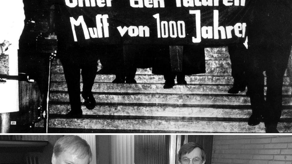 Ein Protestbanner wird 50: Historischer Stoff