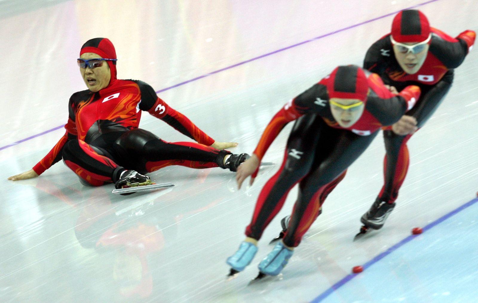 Olympia Turin - Eisschnelllauf Teamverfolgung