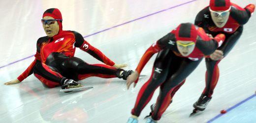 Eisschnelllauf in der Corona-Zeit: Eine Sportart liegt auf Eis