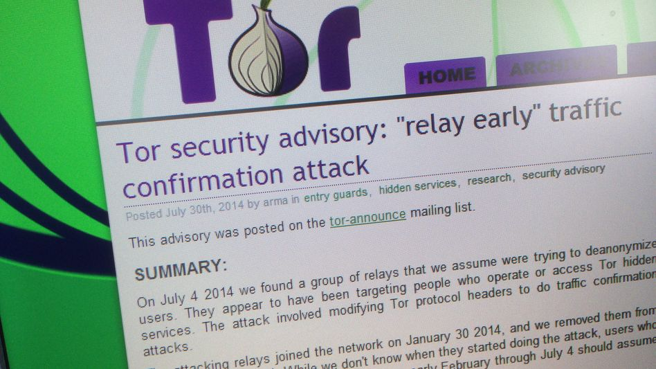 Tor-Netzwerk: Forscher zeigen Angriff auf das anonymisierende Netz