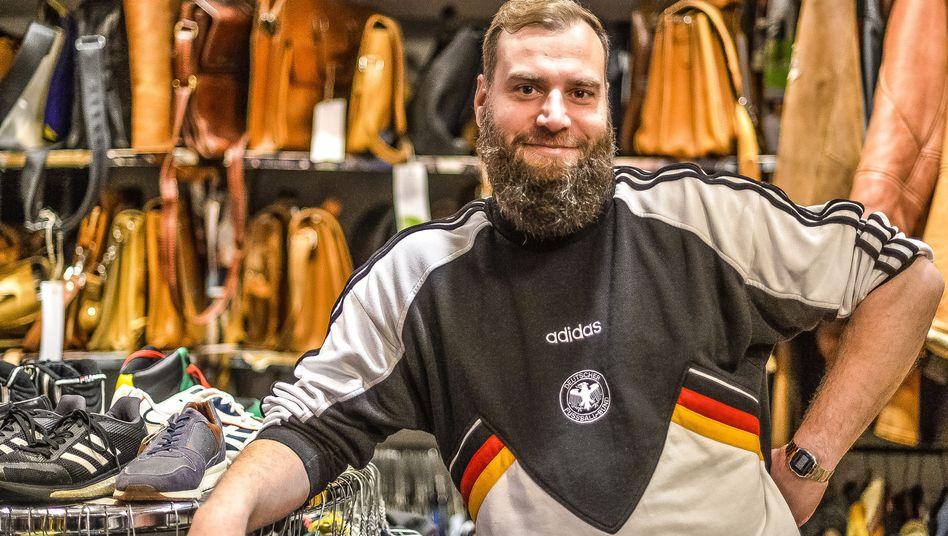 Secondhandverkäufer Ruben Deppe