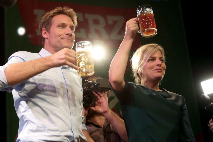 Ludwig Hartmann und Katharina Schulze: Doppelspitze bei der Bayernwahl