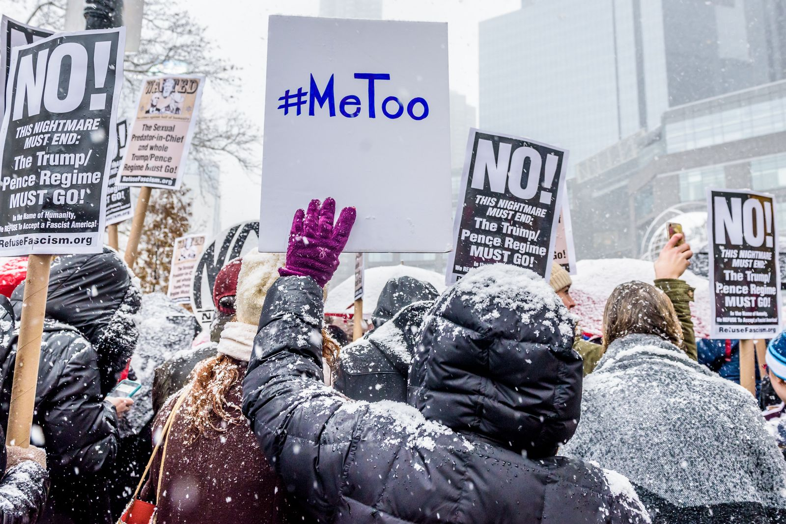 #MeToo Kundgebung / New York City