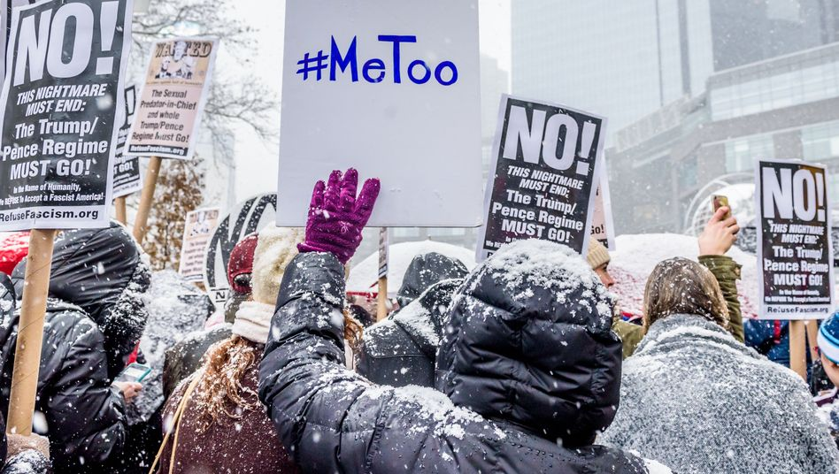 #MeToo-Kundgebung in New York