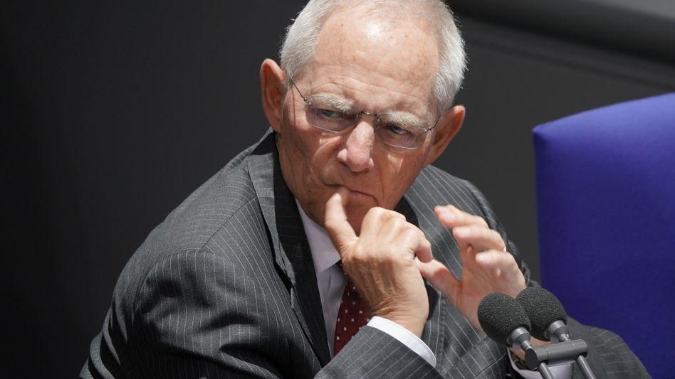 Wolfgang Schäuble: Ein Befürworter der Klarnamenpflicht