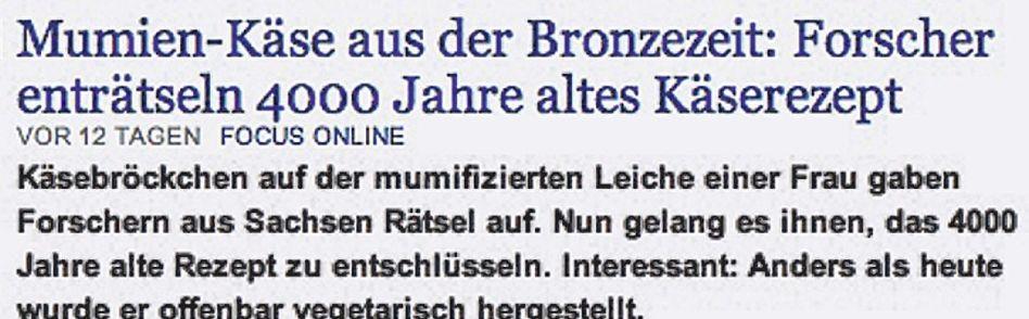 Von der Website nachrichten.de