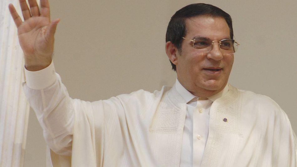 Ex-Langzeitherrscher Ben Ali floh 2011 ins Exil nach Saudi-Arabien