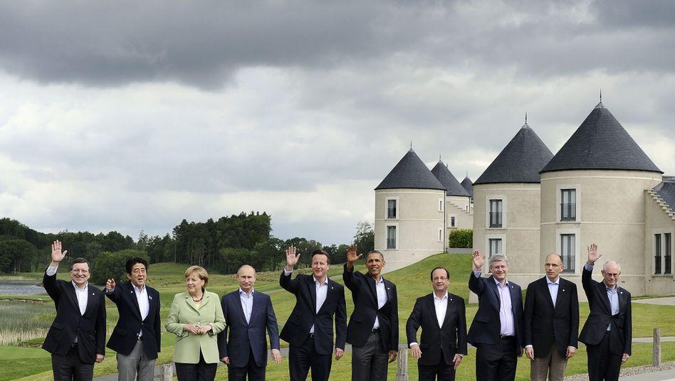 Gipfel in Nordirland: G8 verzichtet auf Forderungnach Assads Rücktritt