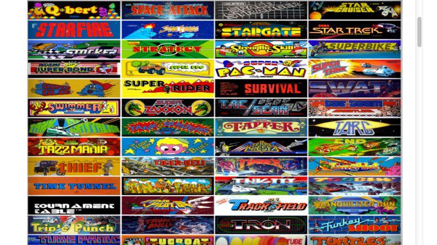 Viele, viele Automatenspiele (Screenshot): Ausflug in die eigene Kindheit