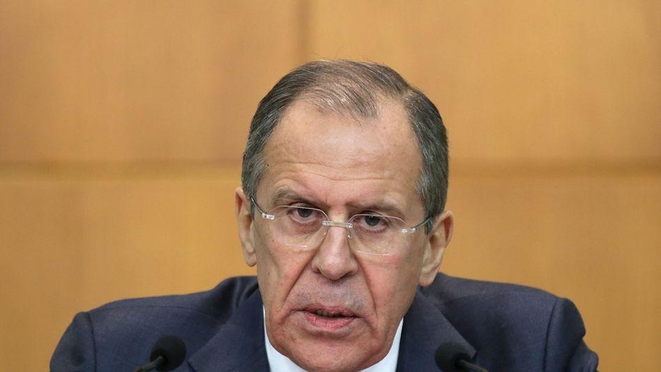 """Russlands Außenminister Lawrow: """"Es ist keine Katastrophe"""""""