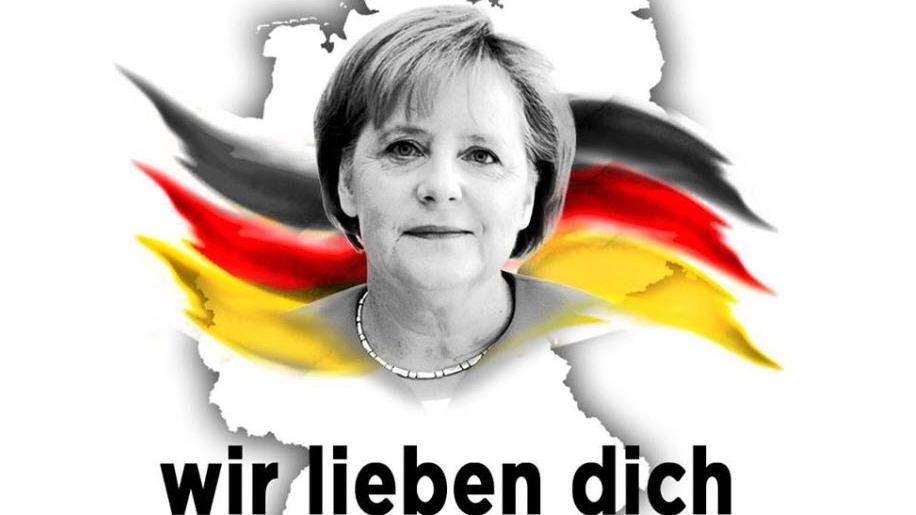 """Online-Lob für Kanzlerin Merkel: """"Wir lieben dich"""""""