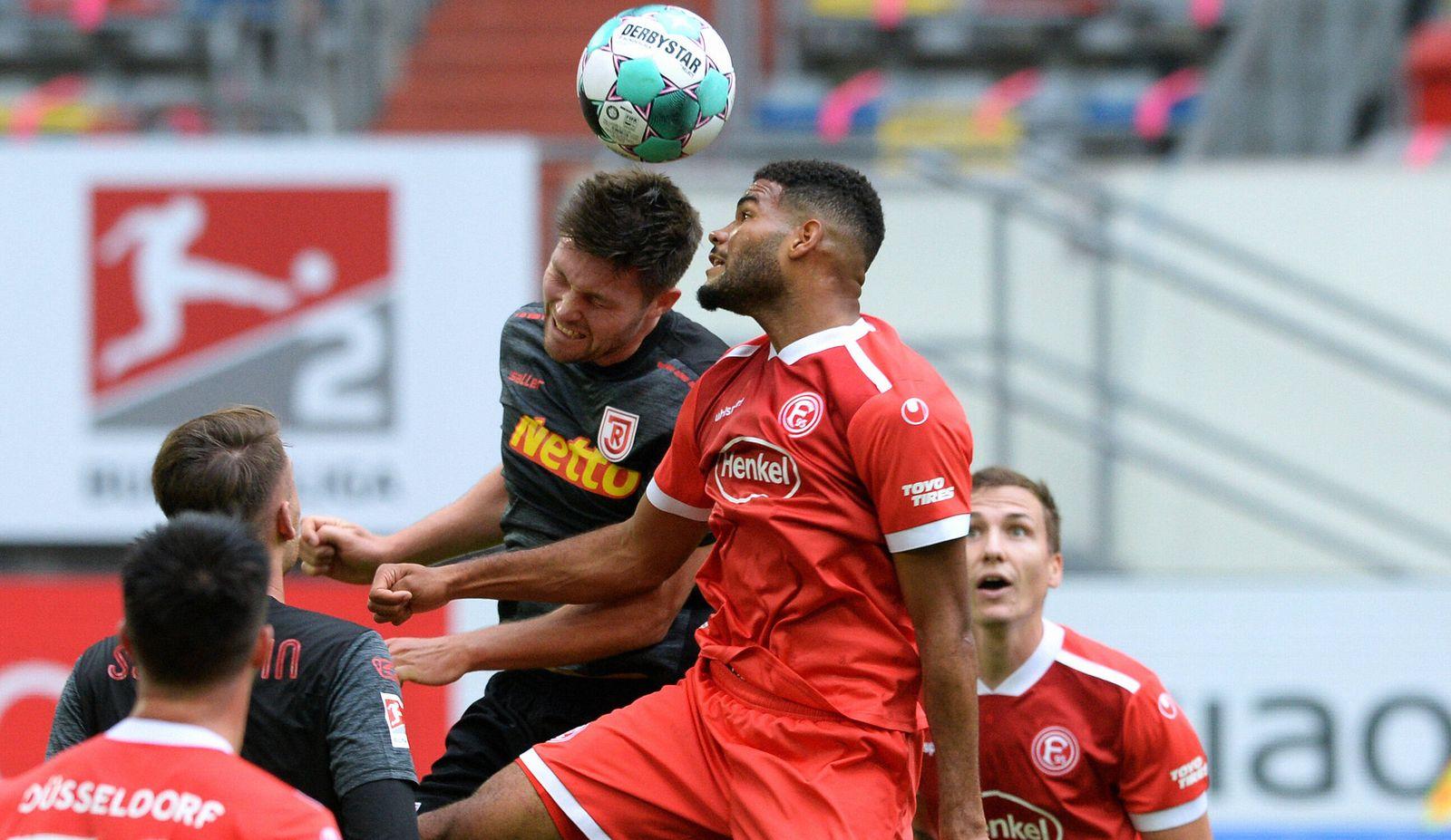 Fussball, Bundesliga, Deutschland, Herren, Saison 2020/2021, 4. Spieltag, Merkur-Spiel-Arena Düsseldorf, Fortuna Düssel