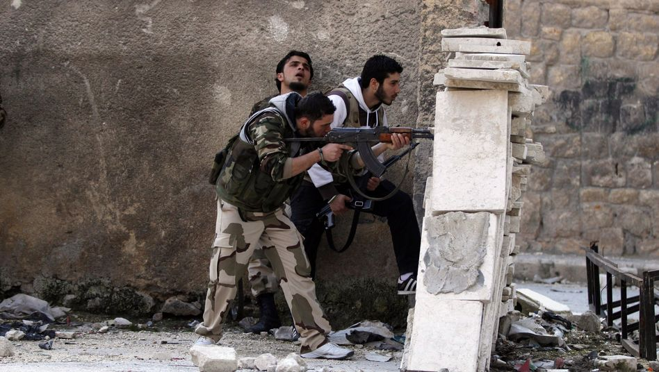 Rebellen in Aleppo: Bald Hilfe von EU-Staaten?