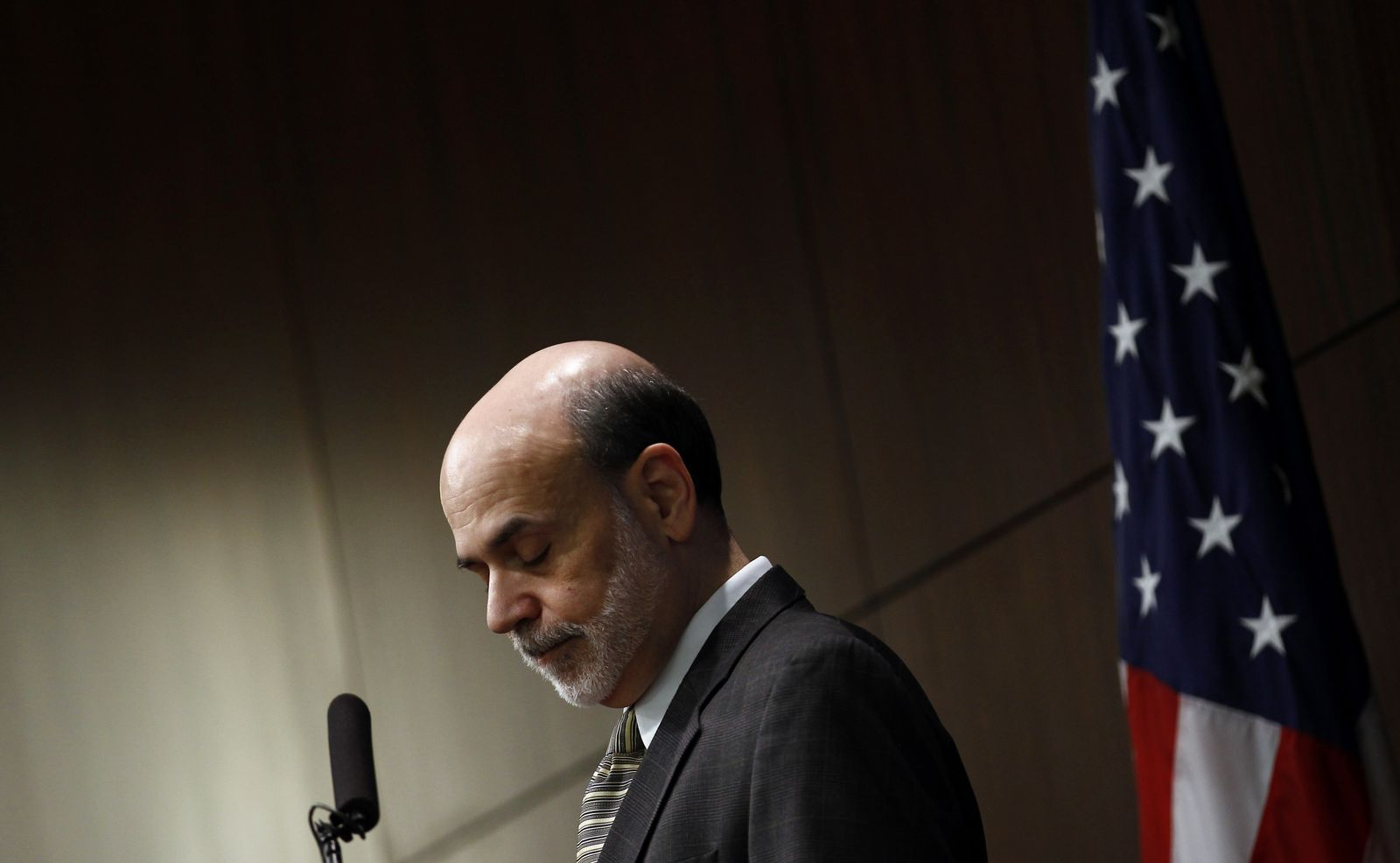 Chairman of the Federal Reserve Ben Bernanke/US-Notenbank