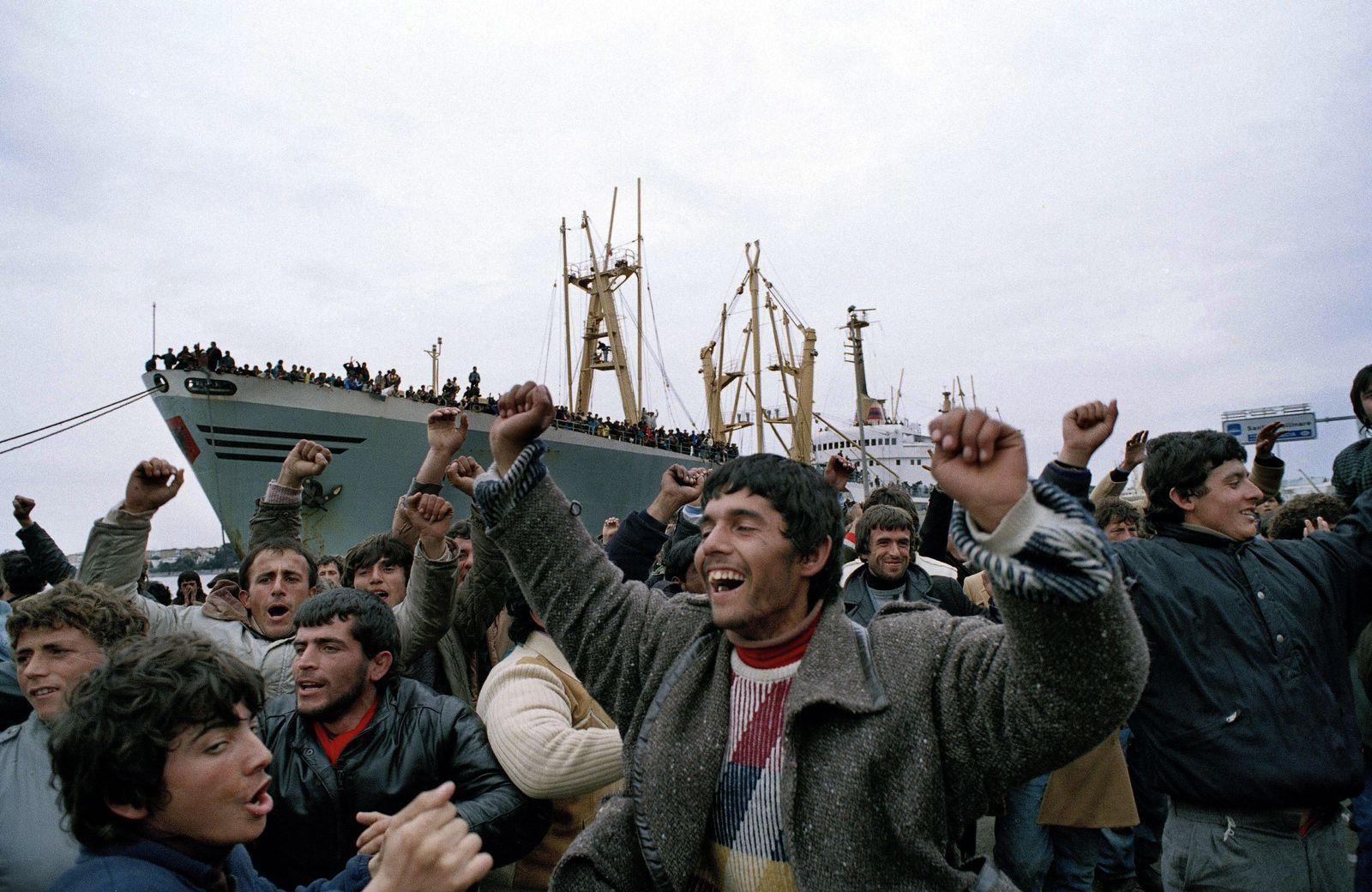 Tirana/ Flüchtlinge/ zurückgekehrt