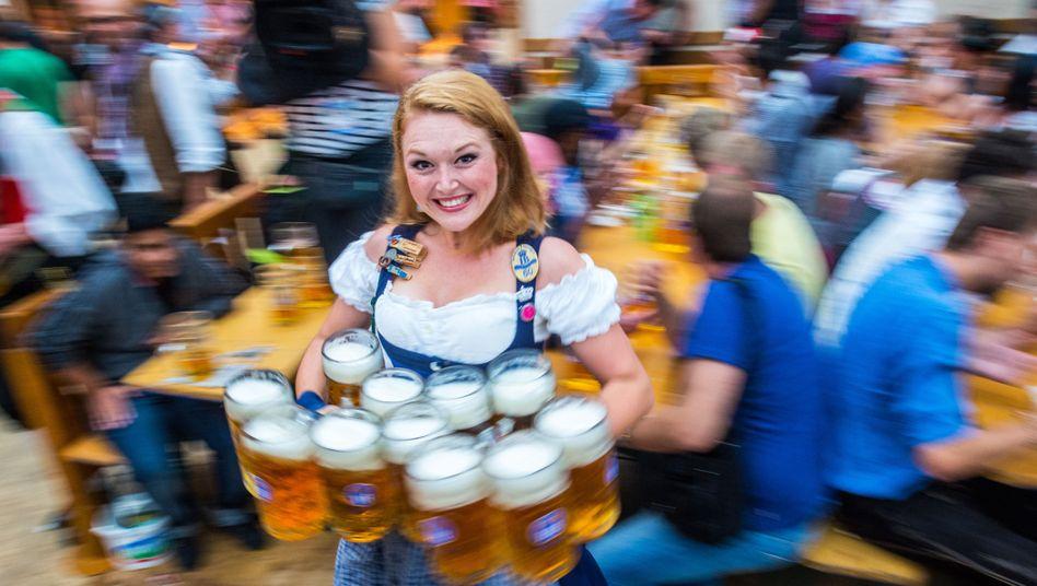 Maß bier oktoberfest preis