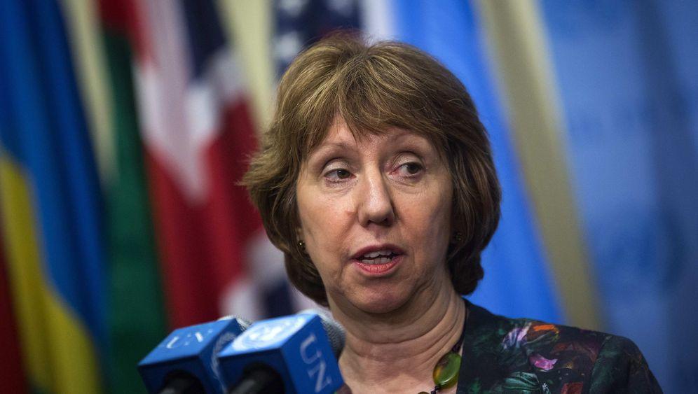 Photo Gallery: Catherine Ashton's Diplomatic Tenacity