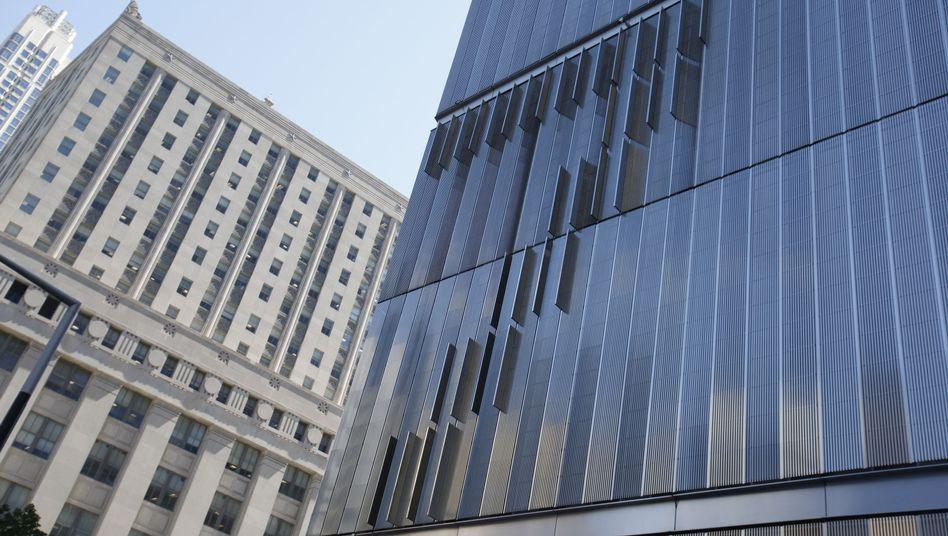 """Moody's Firmenzentrale in New York: Ausblick """"negativ"""""""