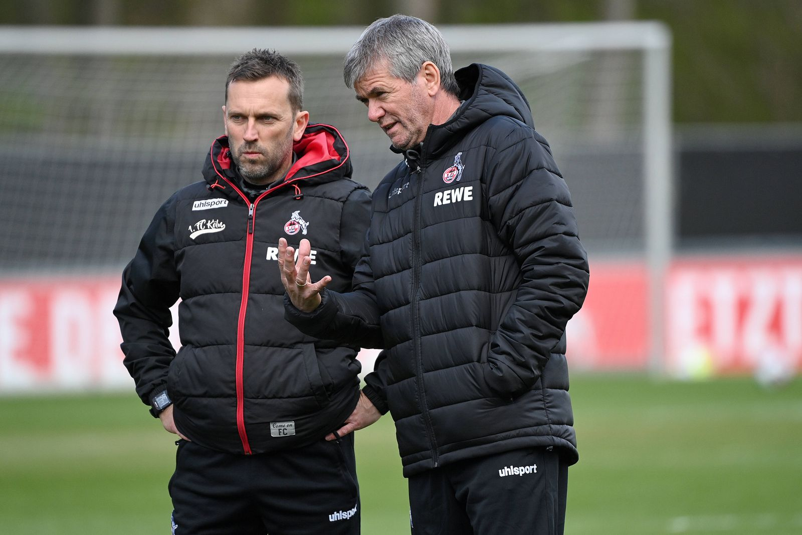 Koeln, Geissbockheim, 13.04.21, GER, Herren, 1.Bundesliga, Saison 2020-2021, Training 1.FC Koeln mit neuem Trainer Fried