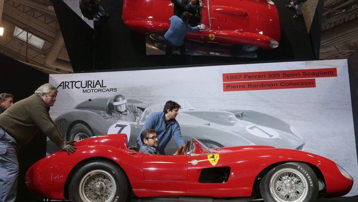 Rekord-Ferrari: Rot, flach, seeeeeeehr teuer